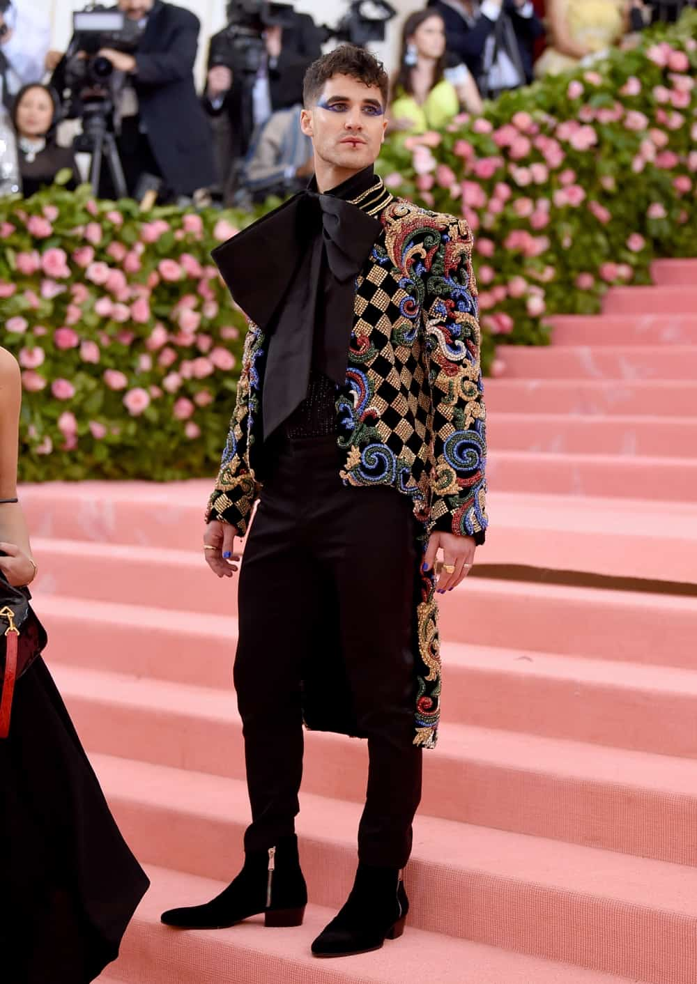 Darren Criss The 2019 Met Gala Celebrating Camp: Notes on Fashion - Arrivals