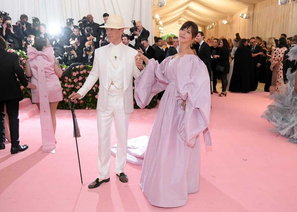Benedict Cumberbatch and Sophie Hunter The 2019 Met Gala Celebrating Camp: Notes on Fashion - Arrivals