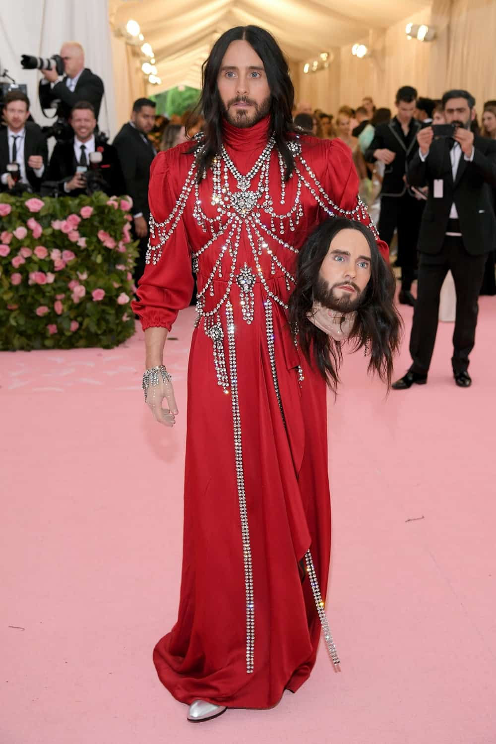 Jared Leto The 2019 Met Gala Celebrating Camp: Notes on Fashion - Arrivals