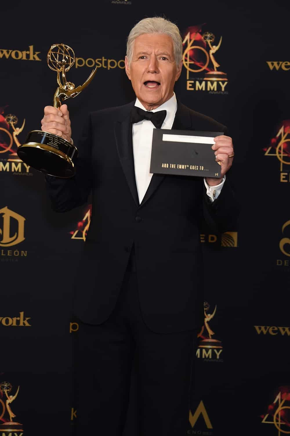 Alex Trebek 46th Annual Daytime Emmy Awards - Press Room