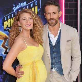 Blake Lively US-ENTERTAINMENT-FILM-POKEMON