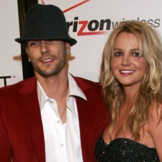 Britney Spears and Kevin Federline Rolling Stone Celebrates 2006 Grammy Nominees With Kanye West - Arrivals