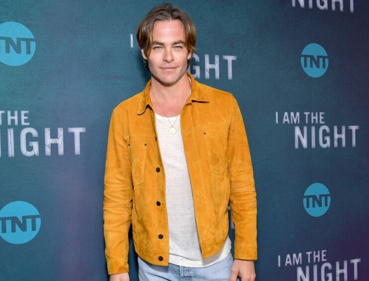 "Chris Pine TNT's ""I Am The Night"" FYC Event"
