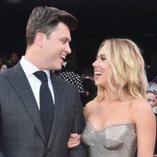 """Scarlett Johansson and Colin JostLos Angeles World Premiere Of Marvel Studios' """"Avengers: Endgame"""""""