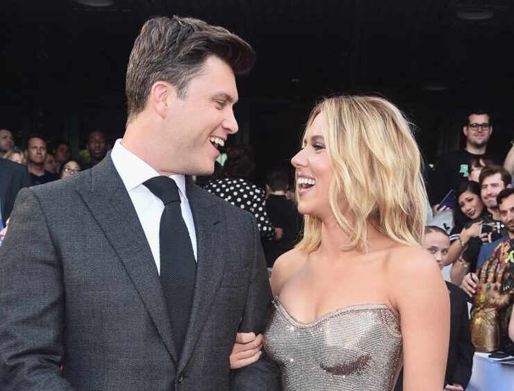 "Scarlett Johansson and Colin JostLos Angeles World Premiere Of Marvel Studios' ""Avengers: Endgame"""