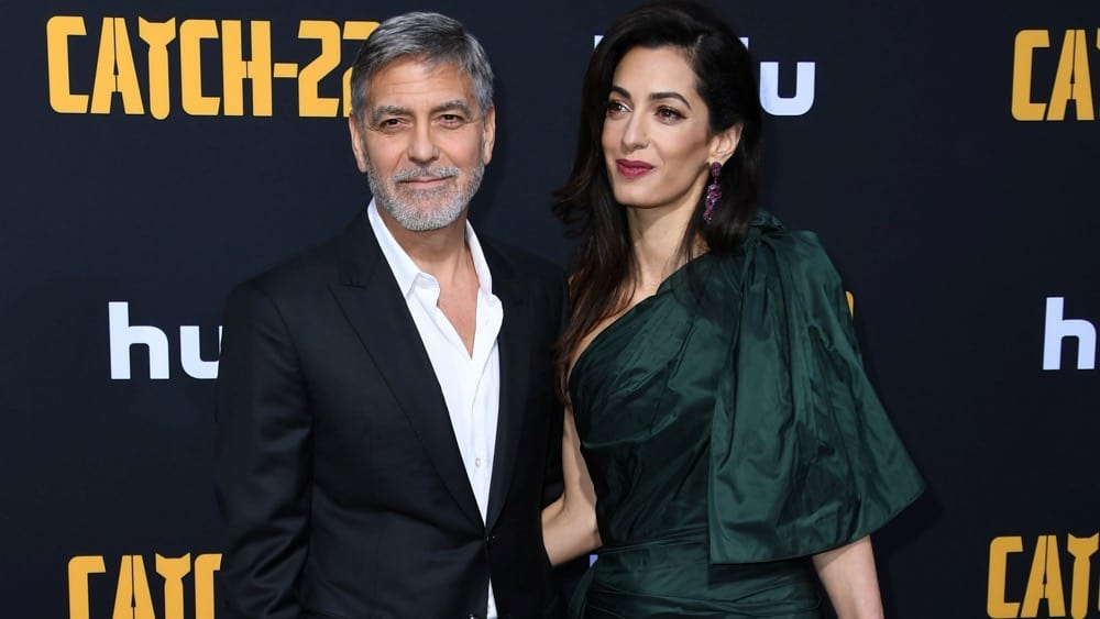George Clooney Reveals That His Twins Are Already Pranksters
