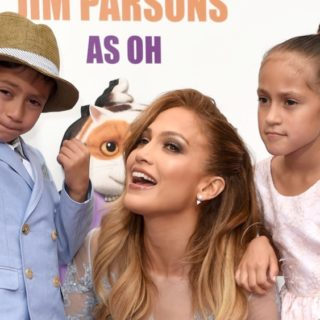 "Jennifer Lopez Premiere Of Twentieth Century Fox And Dreamworks Animation's ""HOME"" - Red Carpet"