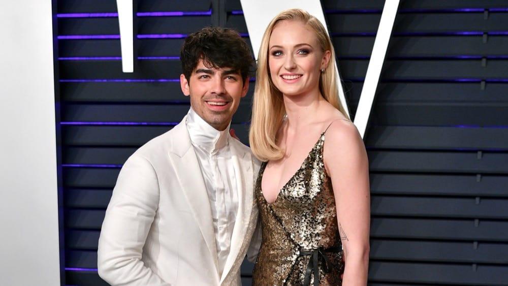 Joe Jonas and Sophie Turner 2019 Vanity Fair Oscar Party Hosted By Radhika Jones - Arrivals