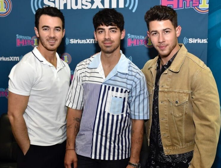 Jonas Brothers SiriusXM Hits 1 Broadcasts Backstage Leading Up To The Billboard Music Awards At The Grand Garden Arena In Las Vegas