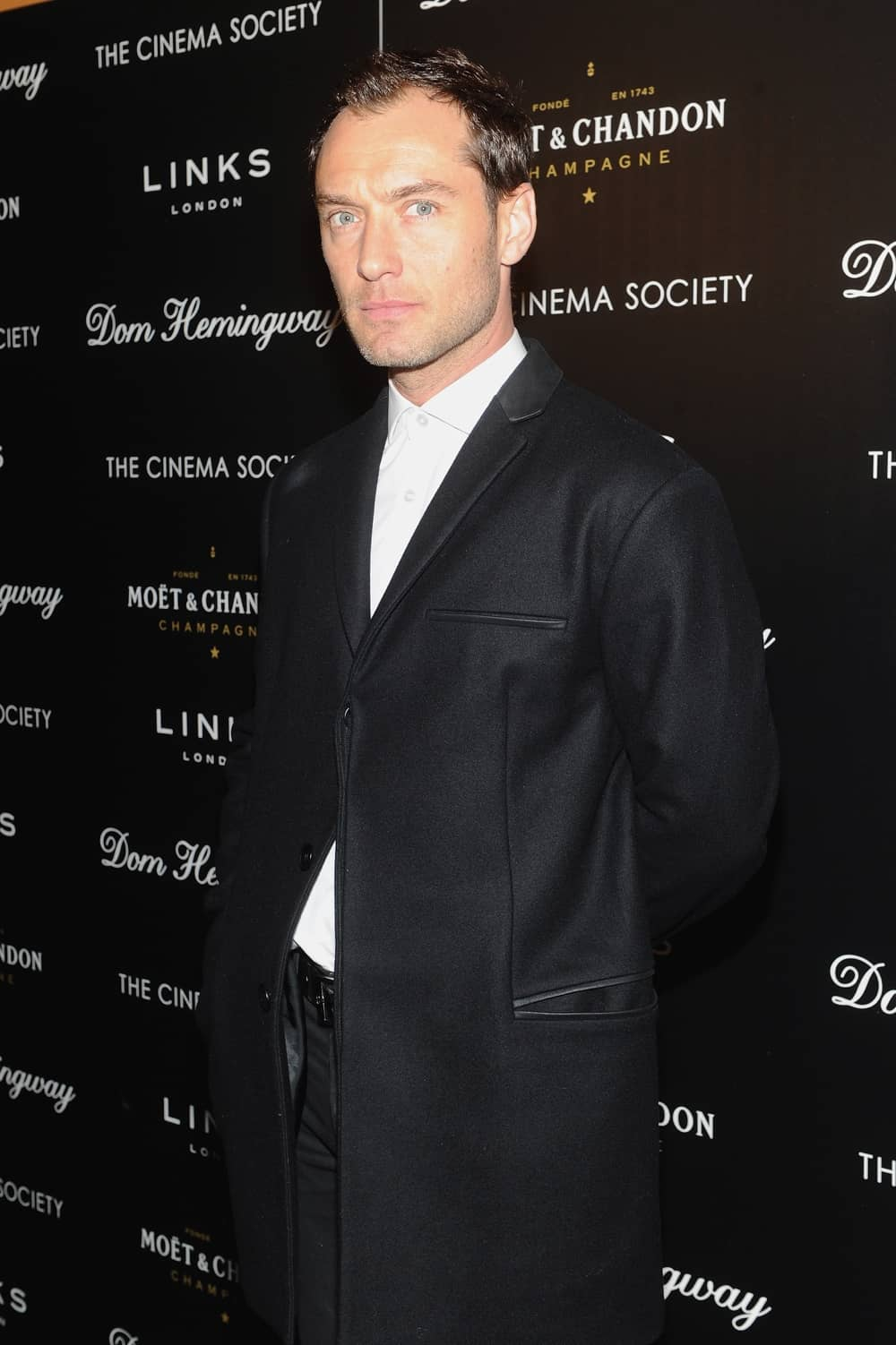 "Jude Law The Cinema Society And Links Of London With Moet And Chandon Host A Screening Of Fox Searchlight Pictures' ""Dom Hemingway"" - After Party"