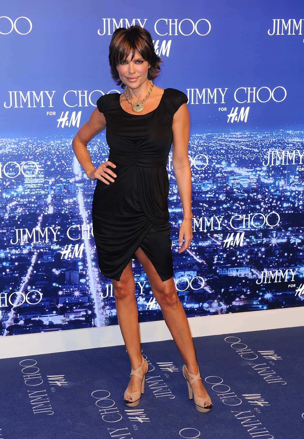 Lisa Rinna Jimmy Choo For H&M Collection Event - Arrivals
