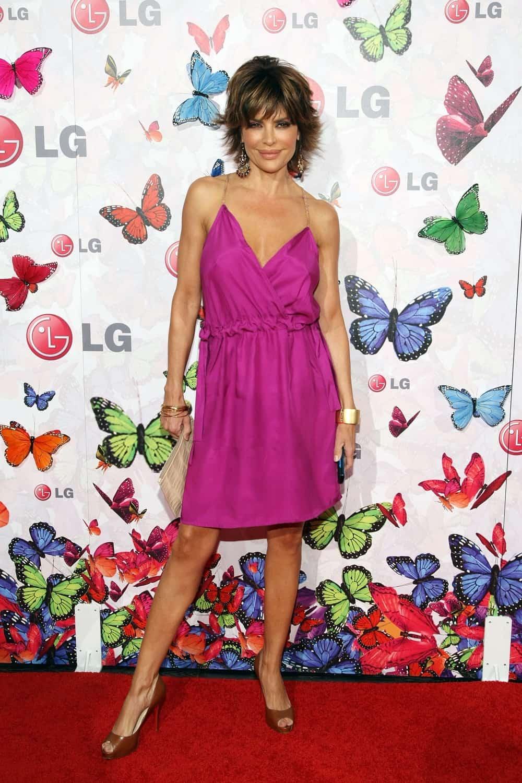 Lisa Rinna LG Rumorous Night with Heidi Klum - Arrivals
