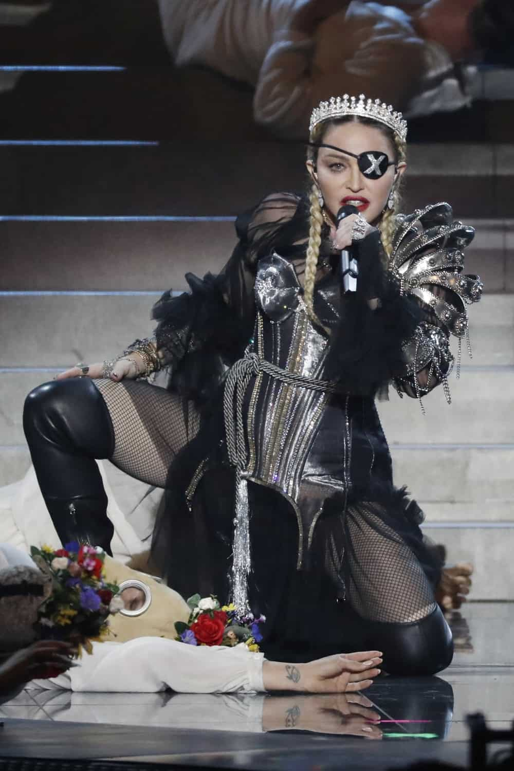 Madonna Performs During the Eurovision Song Contest 2019 - Grand Final
