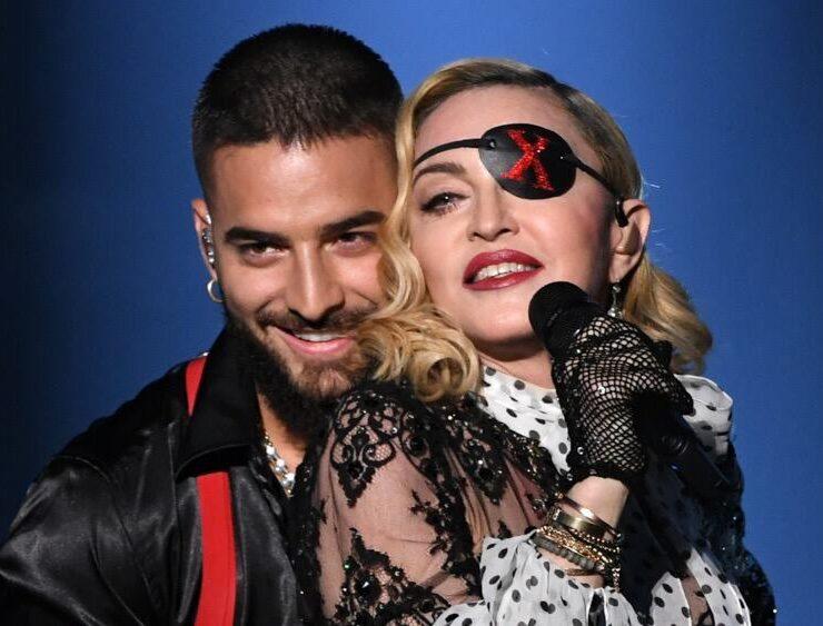 Maluma and Madonna 2019 Billboard Music Awards - Show