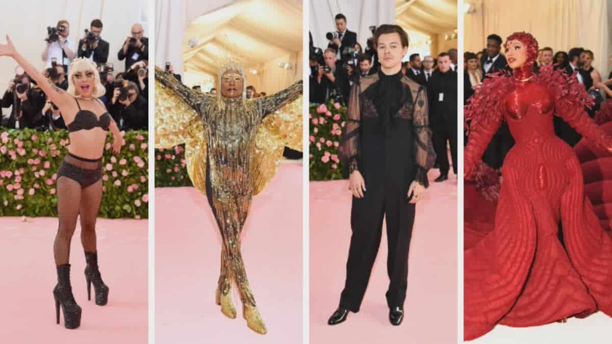 The 2019 Met Gala: Lady Gaga, Billy Porter, Harry Styles ... Images may be subject to copyright. Find out more Related images
