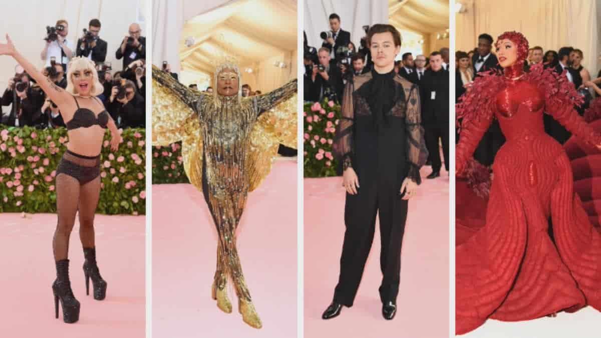 """Harry Styles Tampil Kewanita-wanitaan di Acara """"Met Gala 2019"""""""