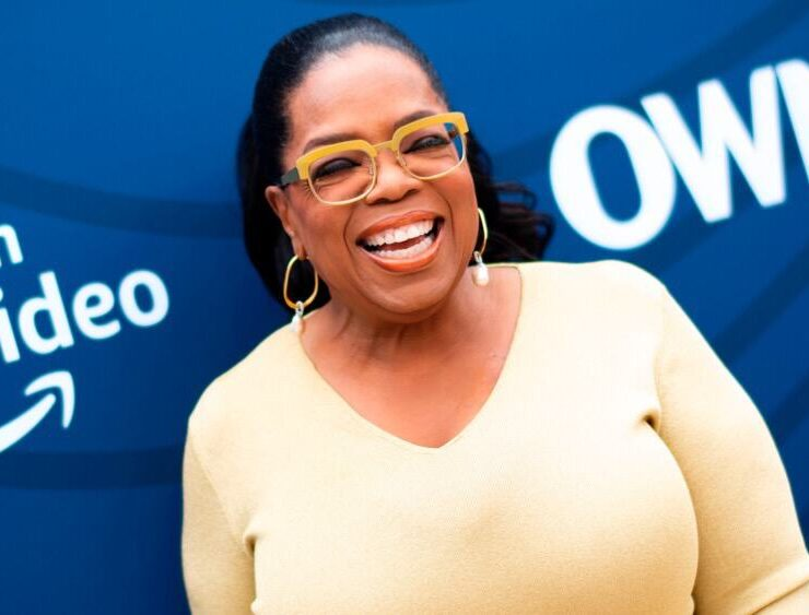 Oprah Winfrey US-ENTERTAINMENT-HOLLYWOOD REPORTER-GALA