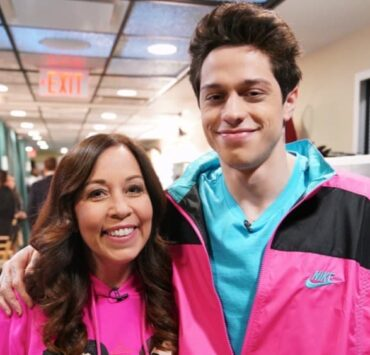 Pete Davidson and Mom