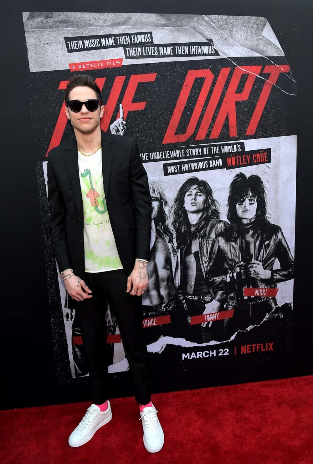 "Pete Davidson ""The Dirt"" World Premiere"