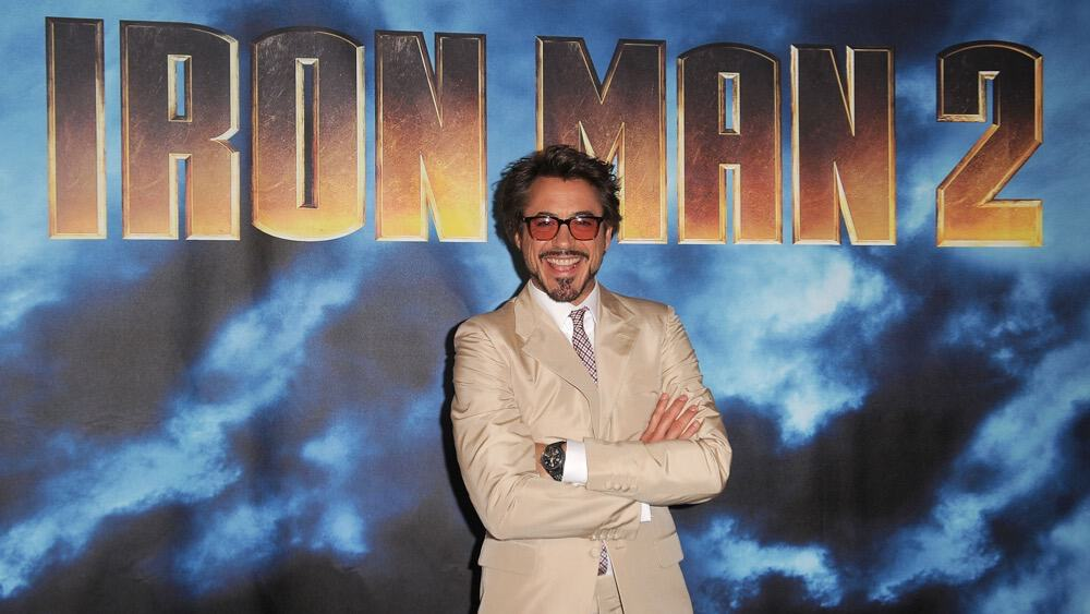 "Robert Downey Jr Photo Call For Paramount Pictures & Marvel Entertainment's ""Iron Man 2"""