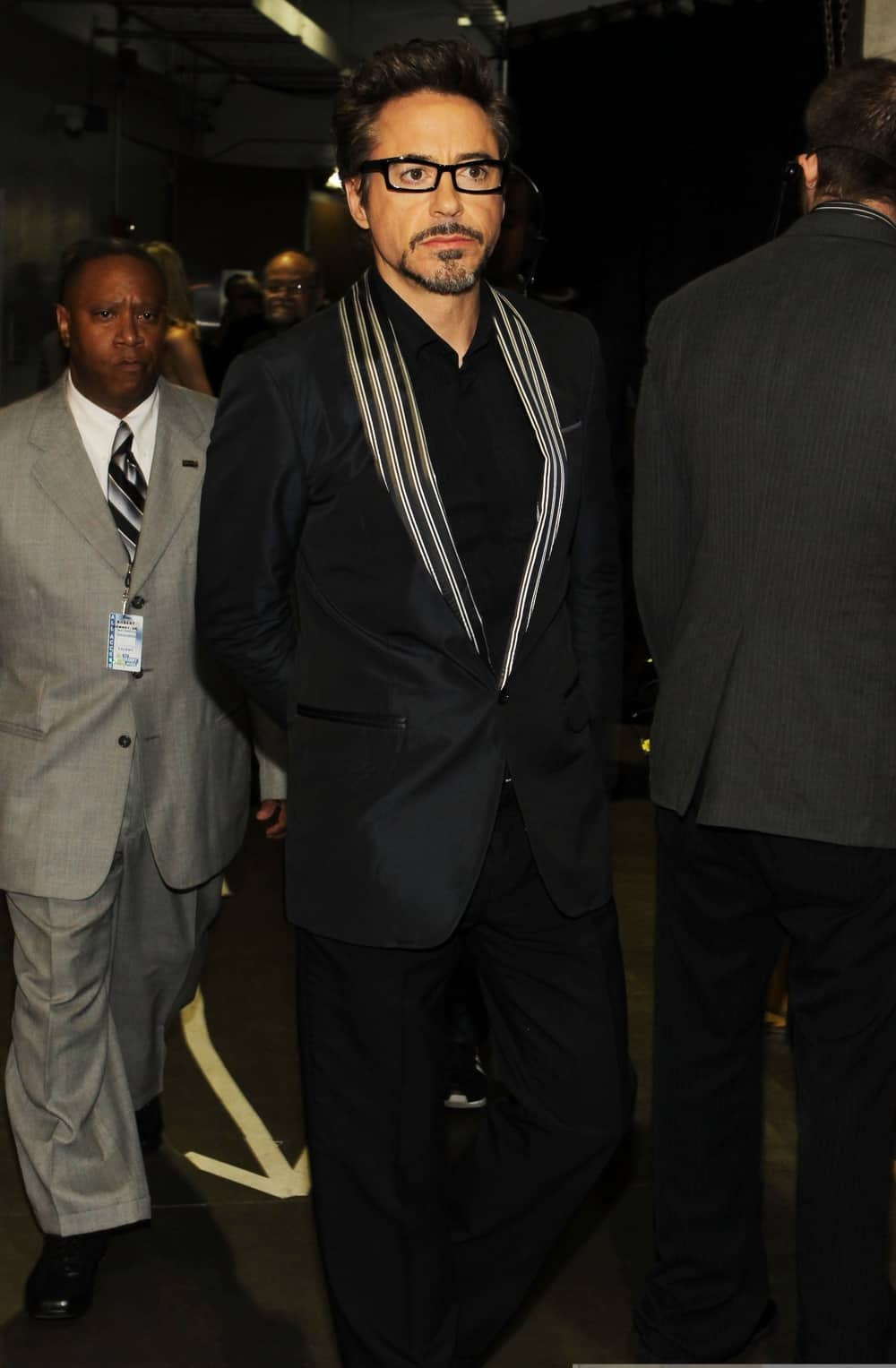 Robert Downey Jr The 52nd Annual GRAMMY Awards - Backstage
