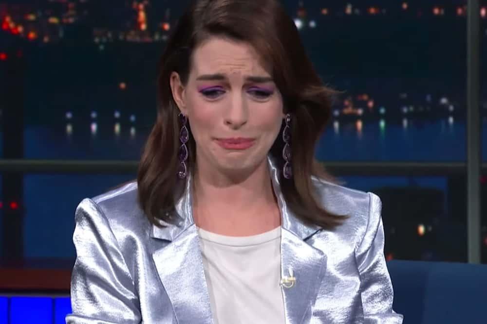 Anne Hathaway meets RuPaul