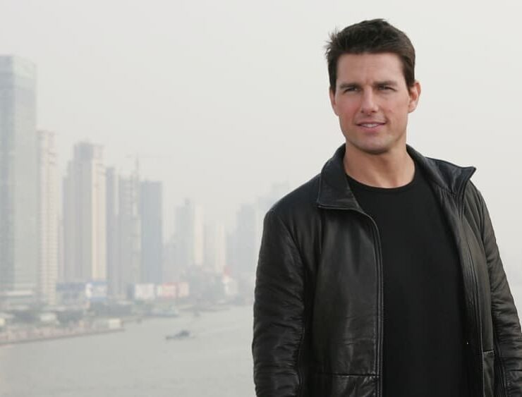 Tom Cruise Films Mission Impossible III In China