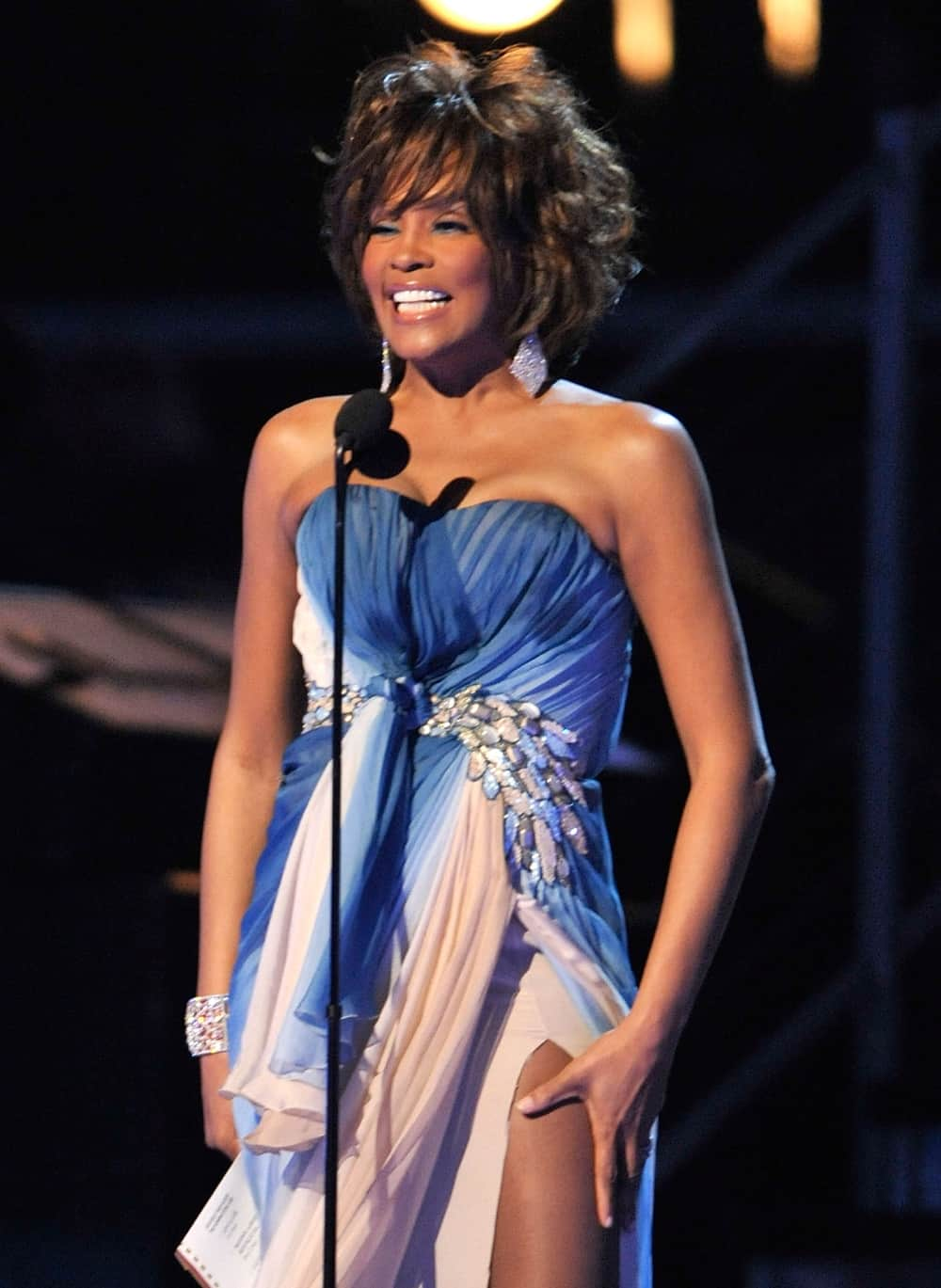 Whitney Houston 51st Annual Grammy Awards - Show