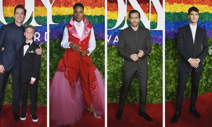2019 Tony Awards Men of the Red Carpet