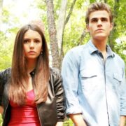 Vampire Diaries Stars Nina Dobrev and Paul Wesley