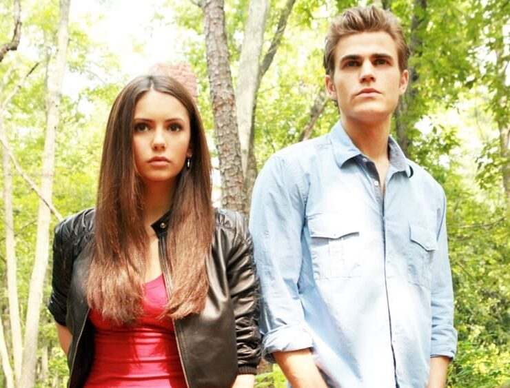 Vampire Diaries Stars Nina Dobrev and Paul Wesley