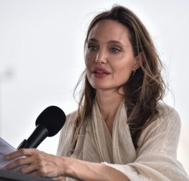 Angelina Jolie Visits Refugee Camp in the Colombia-Venezuela Border