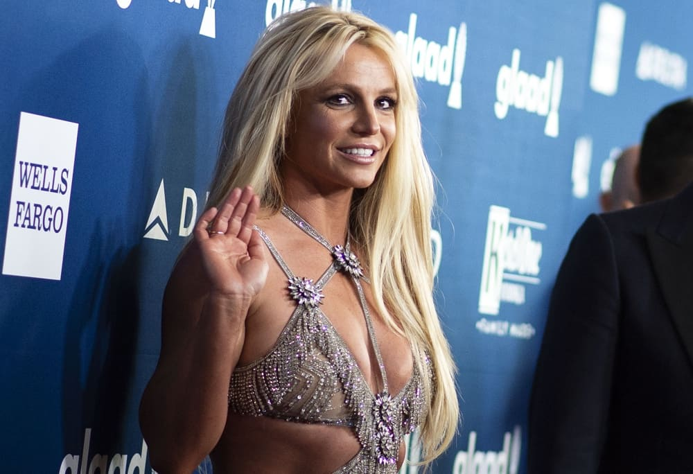 Britney Spears attends the 29th Annual GLAAD Media Awards