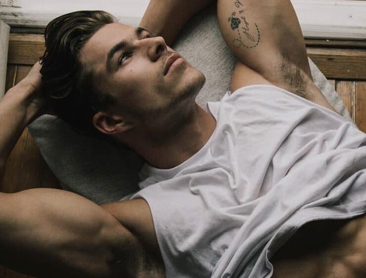 Male Model Monday: Chase Mattson, Marlon Teixeira, Michael Yerger & More 1