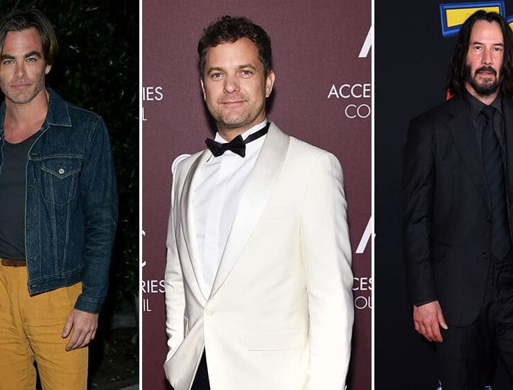 Red Carpet Recap: Chris Pine, Keanu Reeves, Joshua Jackson, and More 2