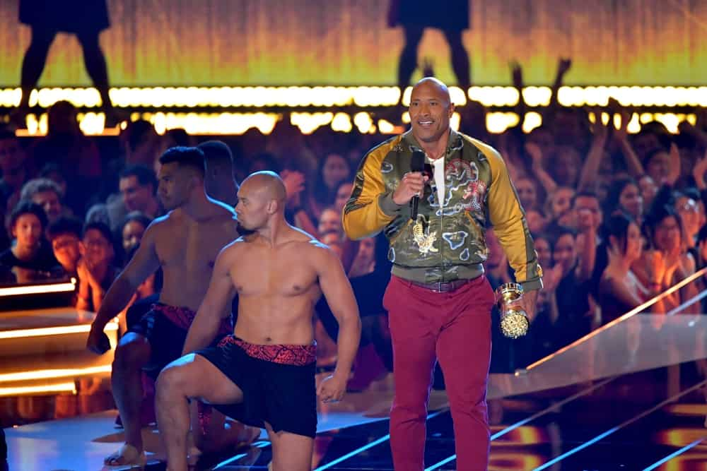 Dwayne Johnson at the 2019 MTV Movie And TV Awards - Show