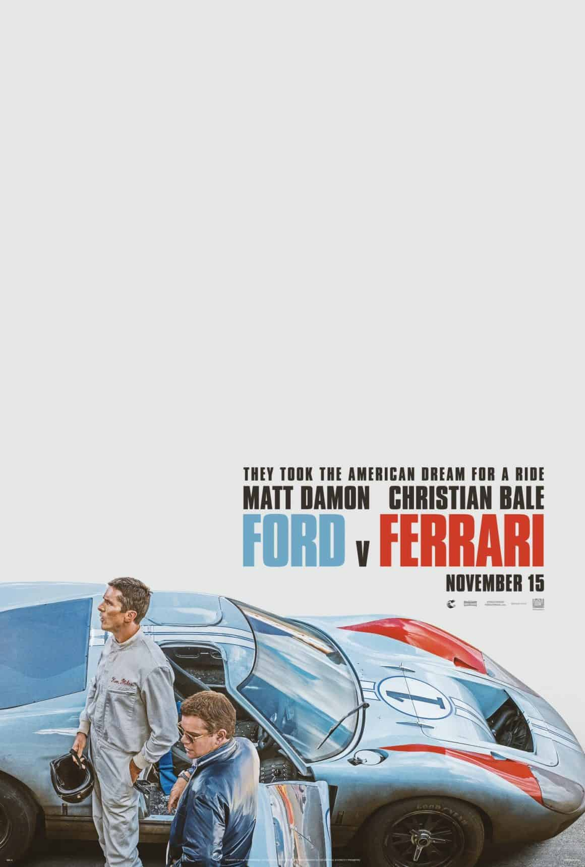 wentieth Century Fox's FORD V. FERRARI