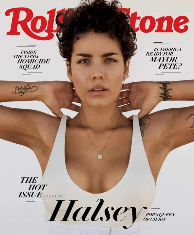 Halsey Covers Rolling Stone