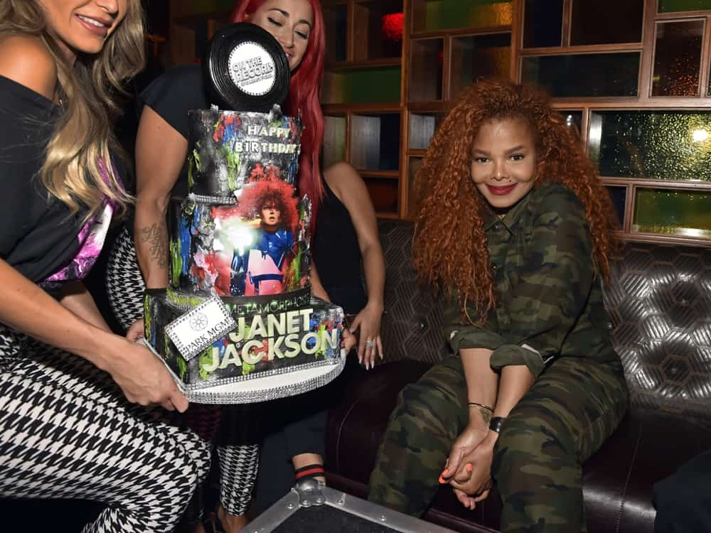 """Janet Jackson Celebrates Park Theater Residency Debut With """"Metamorphosis"""" After Party At On The Record"""