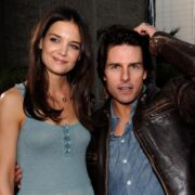 "Katie Holmes and Tom Cruise The ReelzChannel World Premiere of ""The Kennedys"" - Red Carpet"