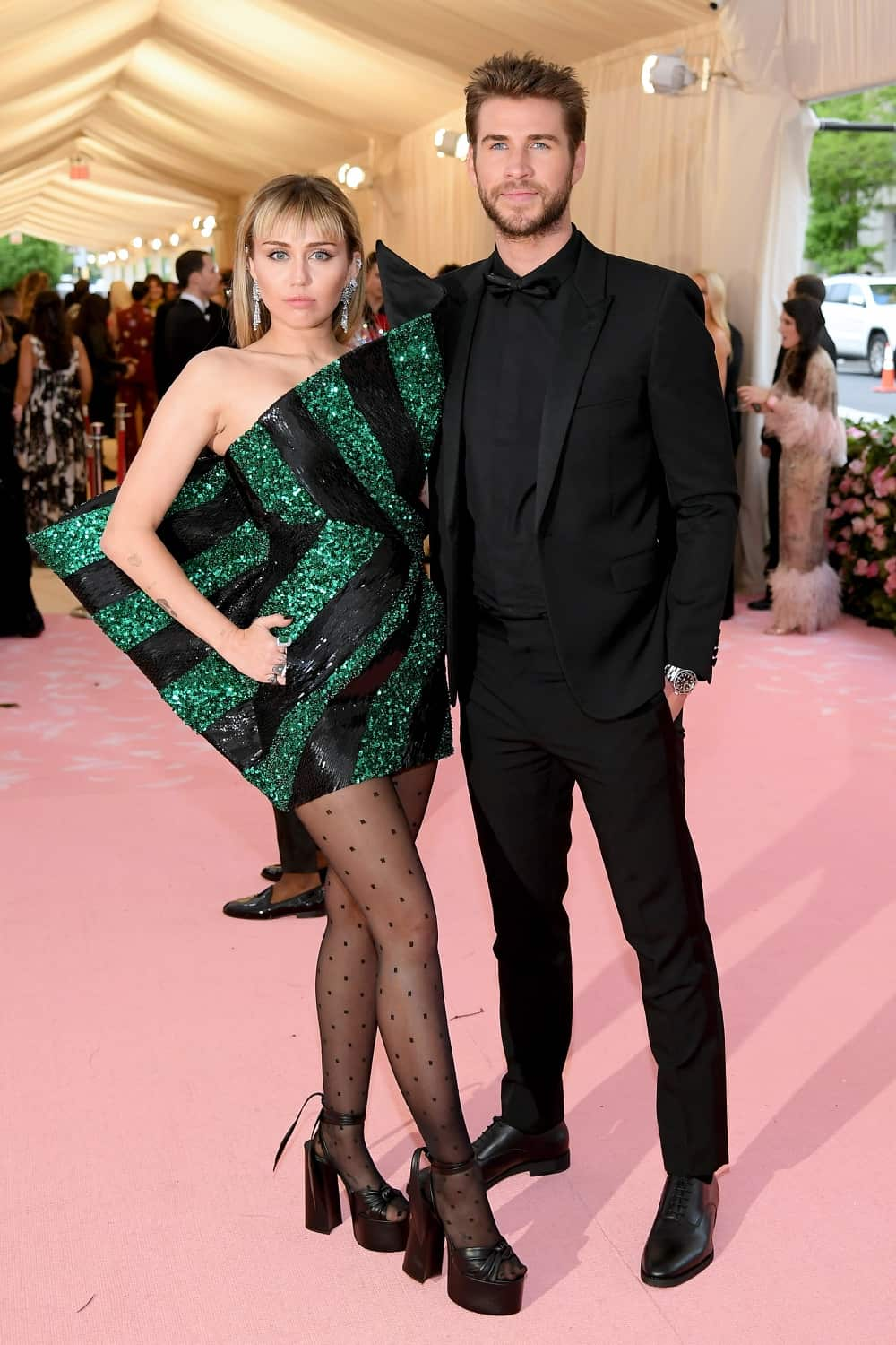 Miley Cyrus The 2019 Met Gala Celebrating Camp: Notes on Fashion - Arrivals