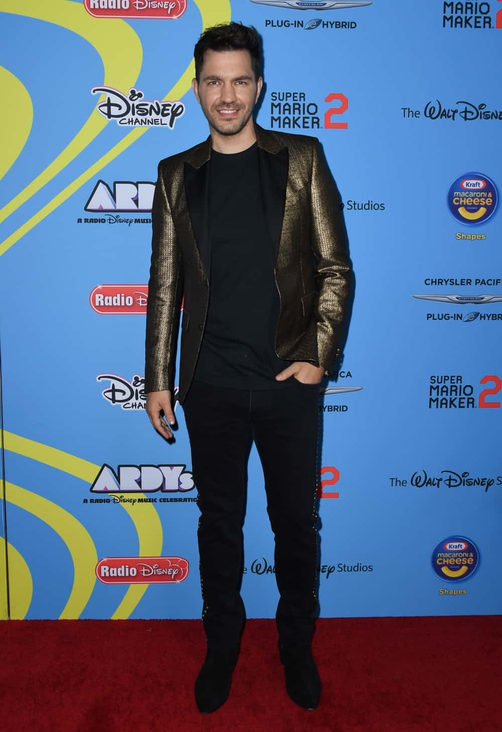 Andy Grammer arrives for the 2019 ARDYs