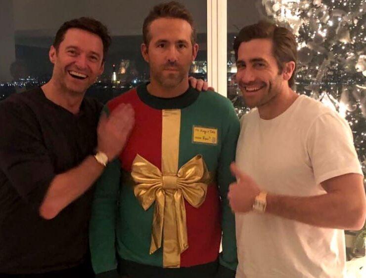 Ryan Reynolds, Hugh Jackman And Jake Gyllenhaal