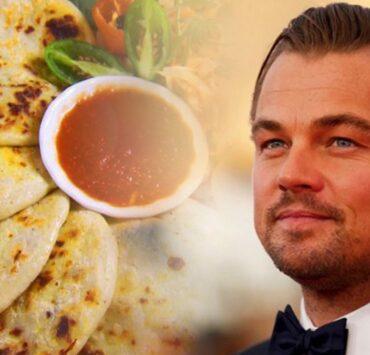 Leonardo DiCaprio Loves Pupusas