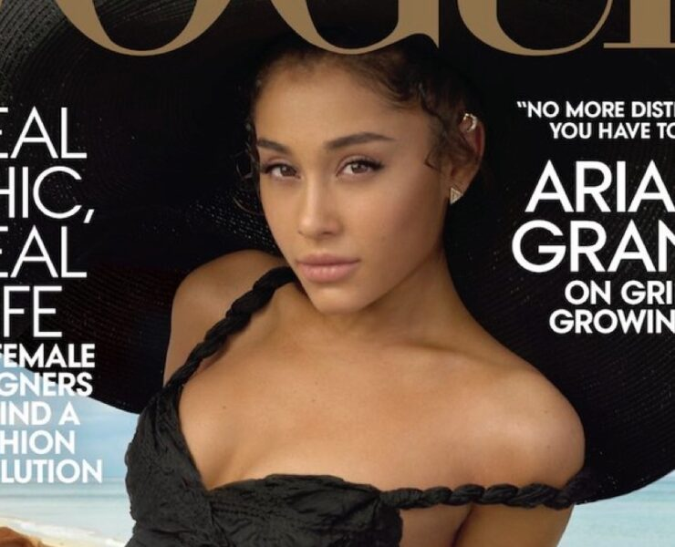 Ariana Grande covers Vogue
