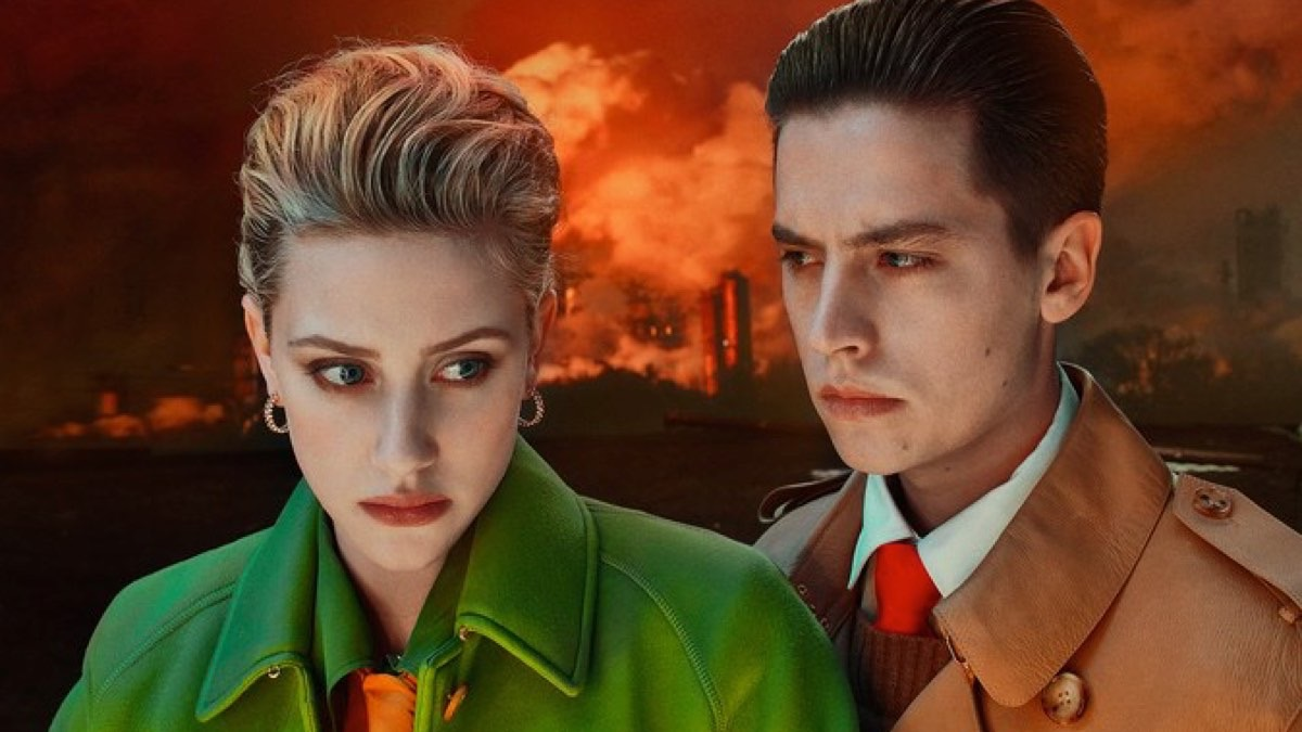 Lili Reinhart and Cole Sprouse W Magazine