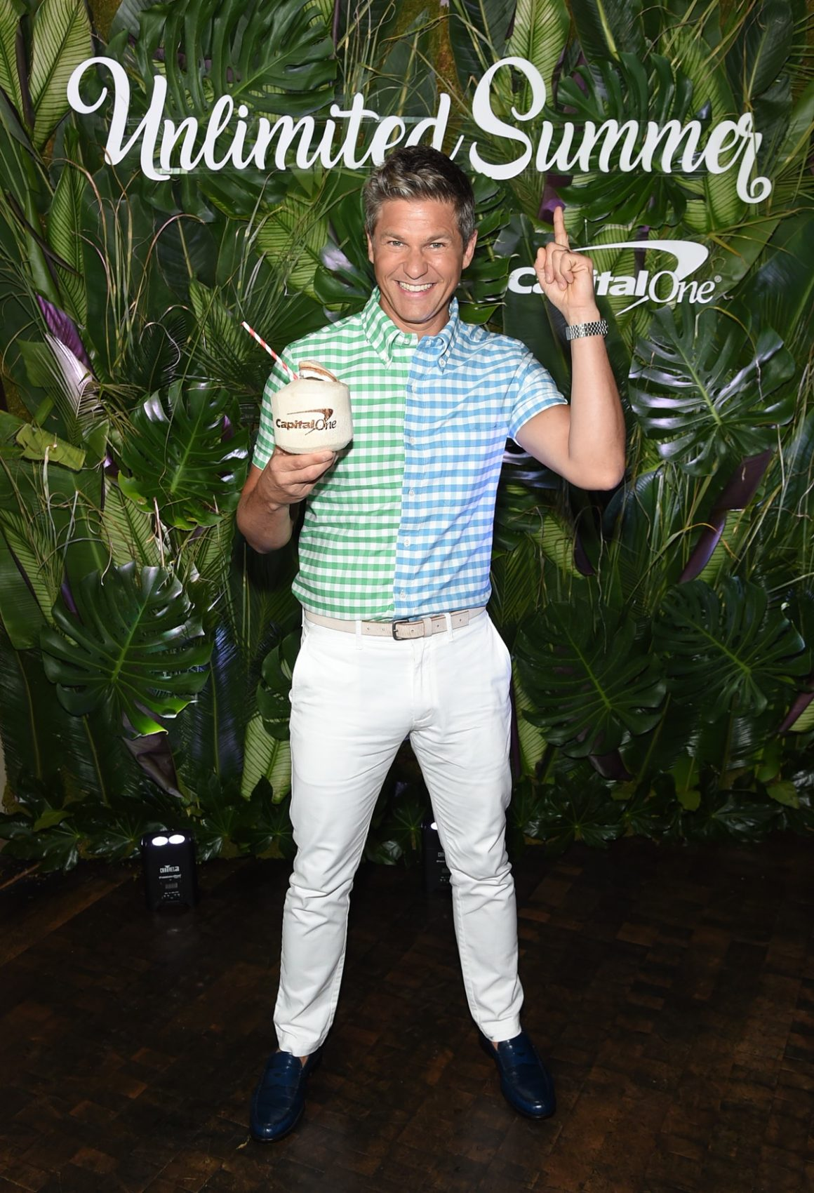 David Burtka Hosts A Summer Night Out With Capital One In New York City