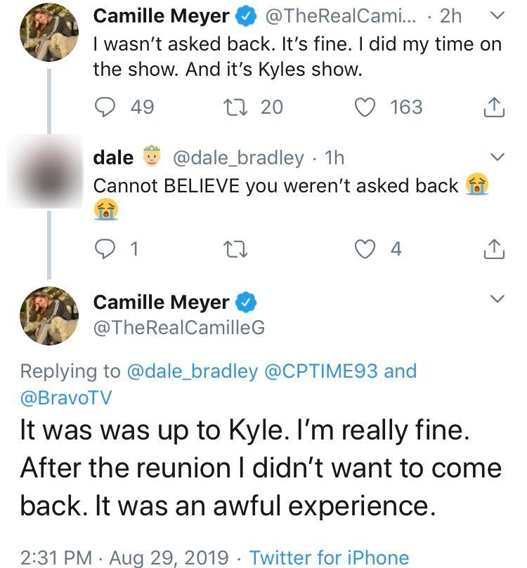 Camille Grammer Tweets