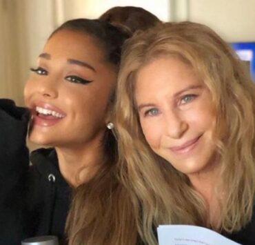 Ariana Grande and Barbra Streisand