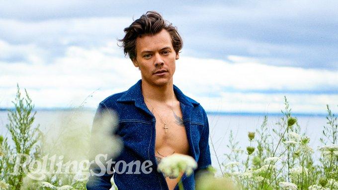 Harry Styles Rolling Stone Magazine